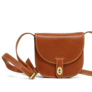 Fossil Austin Small Leather Saddle Bag
